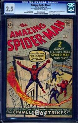 Amazing Spider-man #1 CGC GD+ 2.5
