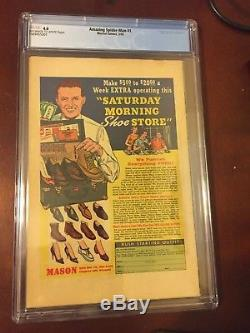Amazing Spider-man 1 Cgc 4.0stan Leesilver Agemarch 1963marvel Comics