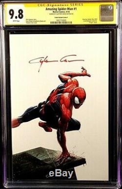 Amazing Spider-man #1 Cgc Ss 9.8 Crain Virgin Variant Venom Carnage Marvel Comic