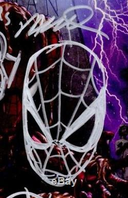 Amazing Spider-man 1 Cgc Ss 9.8 Stan Lee Sketch Horn Gamestop Original Art 1/15