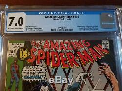 Amazing Spider-man #101 CGC 7.0 1st Appearance of Morbius