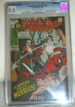 Amazing Spider-man 101 CGC 9.2 First Morbius