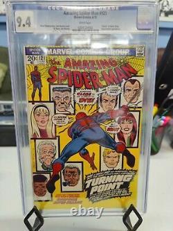 Amazing Spider-man #121 (1963 Series) Cgc Grade 9.4 Death Of Gwen Stacy
