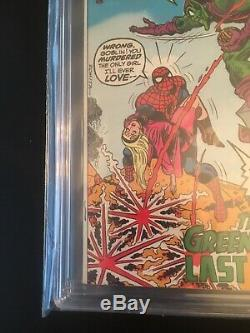 Amazing Spider-man 122 CGC 9.2 White Pgs. Death Of Green Goblin Nice See Pics