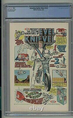 Amazing Spider-man #129 1974 1st Appearance Of Punisher & Jackal Key Cgc 9.2