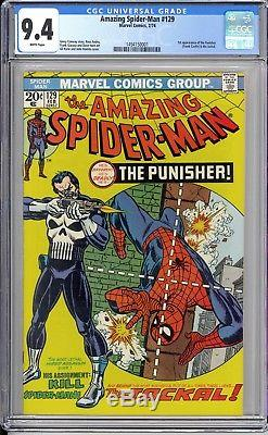 Amazing Spider-man #129 9.4 Nm+ Sharp White Pages! Strictly Graded Hot Book