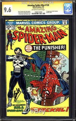 Amazing Spider-man #129 CGC 9.6 1st Punisher! Stan Lee Signature! Close to 9.8