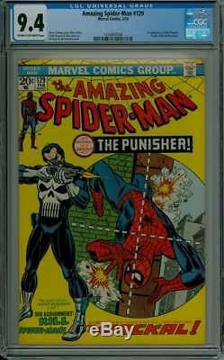 Amazing Spider-man #129 Cgc 9.4 Cr/ow Pages