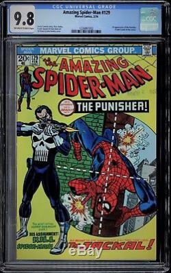 Amazing Spider-man #129 Cgc 9.8 Ow-w