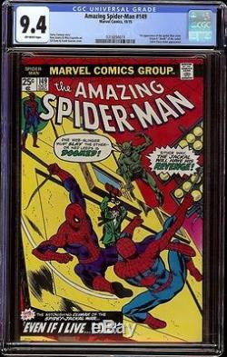 Amazing Spider-man # 149 CGC 9.4 OW (Marvel 1975) 1st appearance Ben Reilly