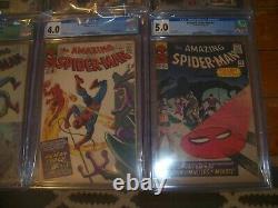 Amazing Spider-man #15-22 All Cgc