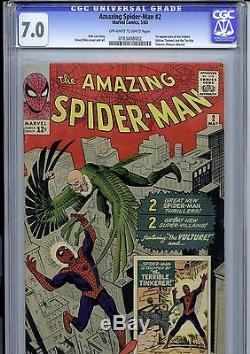 Amazing Spider-man #2 Cgc 7.0 Ow-w
