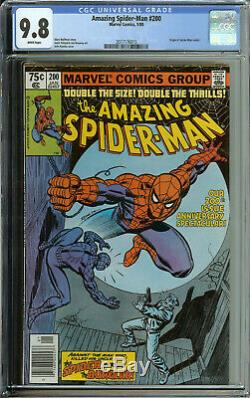 Amazing Spider-man # 200 CGC 9.8 WP origin spiderman retold