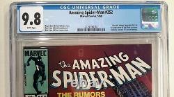 Amazing Spider-man #252 Cgc 9.8(1984 Marvel)1st App Of Black Suit Symbiote