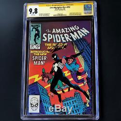Amazing Spider-man #252 Signed By Stan Lee Cgc 9.8 Ss 1st Black Suit Venom