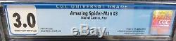 Amazing Spider-man #3 (1963) 1st Appearance Of Doctor Octopus CGC 3.0 J512