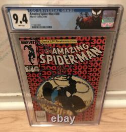 Amazing Spider-man #300 1st Full Venom Cgc 9.4 Custom Carnage Label Key