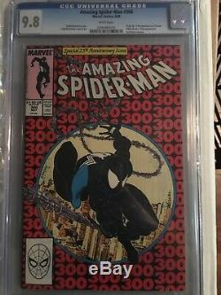 Amazing Spider-man # 300 CGC 9.8 White Pages. UnRestored