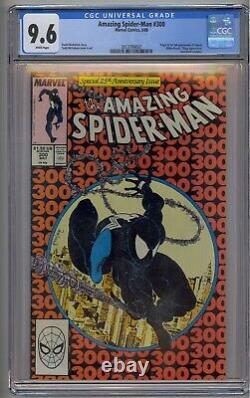 Amazing Spider-man #300 Cgc 9.6 Origin/1st Venom White Pages
