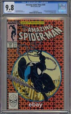 Amazing Spider-man #300 Cgc 9.8 1st Venom White Pages