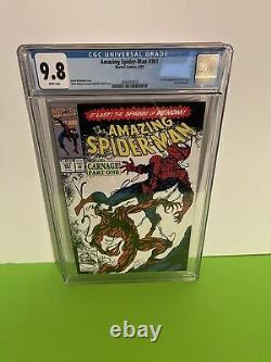 Amazing Spider-man #361, 362, 363 Cgc 9.8 1st Prints 1st App Carnage No Reserve