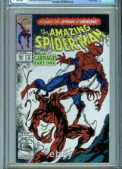 Amazing Spider-man #361 CGC 9.4 NM Marvel Comics 1st Carnage Amricons B9