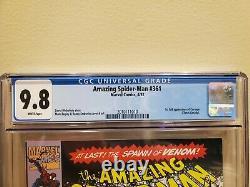 Amazing Spider-man 361 CGC 9.8 1st Carnage First Print ASM Spiderman Key Grail