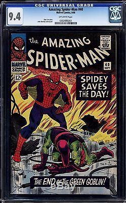 Amazing Spider-man #40 Cgc 9.4 Ow