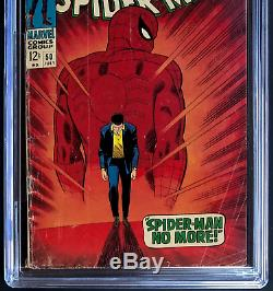Amazing Spider-man #50 (1967) Cgc 3.5 1st Appearance Of Kingpin