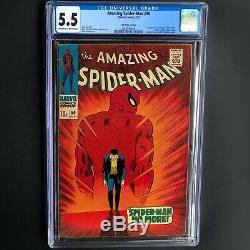 Amazing Spider-man #50 (1967) Cgc 5.5 Scarce Uk Price Variant! 1st Kingpin