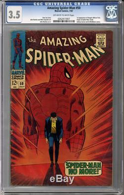 Amazing Spider-man #50 CGC 3.5
