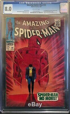 Amazing Spider-man 50 CGC 8.0