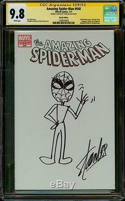 Amazing Spider-man 648 Cgc 9.8 Ss Stan The Man Original Art By The Creator Hot