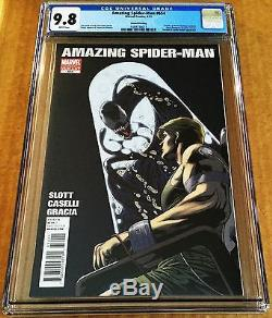 Amazing Spider-man #654 Cgc 9.8 Second Print Flash Thompson Becomes Venom