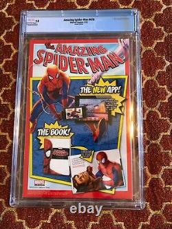 Amazing Spider-man #678 Mary Jane Venom Variant Cover Cgc 9.8 Super Rare