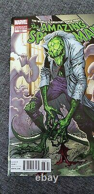Amazing Spider-man #688 Campbell Variant Mega Rare