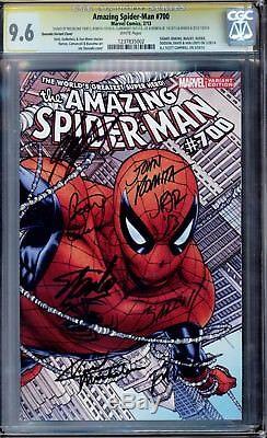 Amazing Spider-man #700, Quesada Wrap- Cgc 9.6 White, 14 Master Signatures