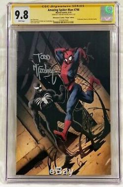 Amazing Spider-man #798 SIGNED TODD MCFARLANE CGC SS 9.8 Dim X Virgin Variant