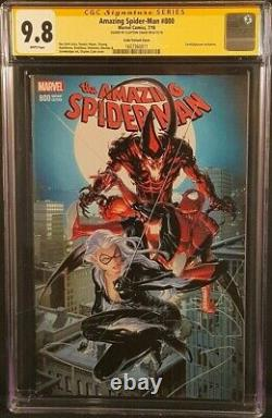 Amazing Spider-man 800 Cgc Ss 9.8 Clayton Crain Variant Red Goblin Venom Carnage