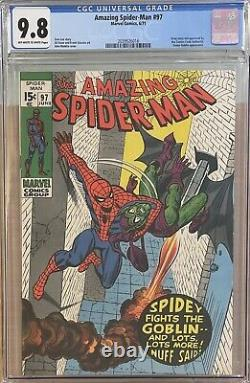Amazing Spider-man #97 Cgc 9.8 Rare