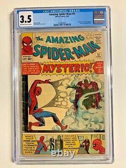Amazing Spider-man Issue #13 CGC 3.5 Marvel Comics 1964 1st Mysterio KEY