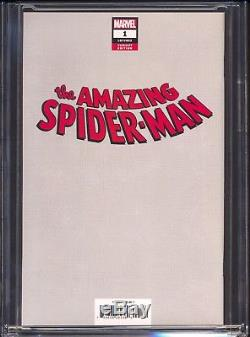 Amazing Spiderman #1 (2018) Waite 8 Bit Variant Spiderman #300 Homage CGC 9.9
