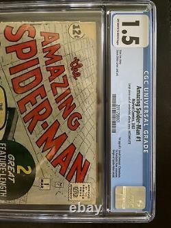 Amazing Spiderman 1 CGC 1.5 1963