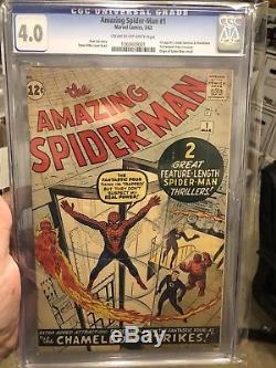 Amazing Spiderman #1 CGC 4.0