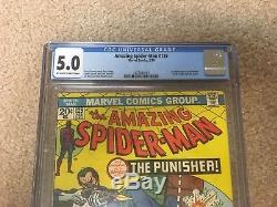 Amazing Spiderman 129 CGC 5.0 1st Appearance The Punisher Netflix Show