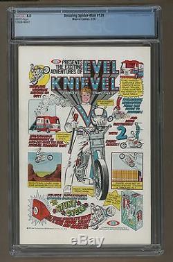 Amazing Spiderman #129 CGC 8.0 VF White Pages (Marvel, 2/74) 1st Punisher Jackal