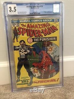 Amazing Spiderman 129 Cgc 3.5