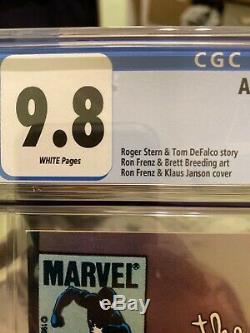 Amazing Spiderman #252 CGC 9.8 1st App Of Black Costume! Newsstand Edition