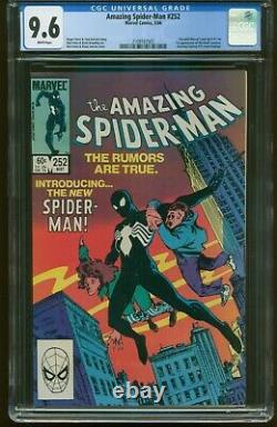 Amazing Spiderman # 252 May 1984 Cgc-graded 9.6 Near Mint+ Item G-15