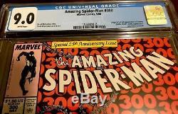 Amazing Spiderman 300 CGC 9.0. First Appearance Of Venom